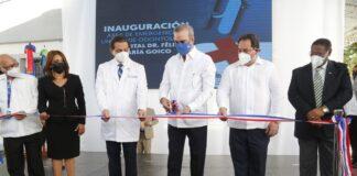 Abinader deja en funcionamiento nuevas áreas del hospital Dr. Félix María Goico en Villa Consuelo