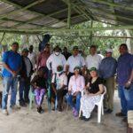 Productores del Distrito Don Juan en Monte Plata de la Cooperativa Mi Sueño solicita apoyo del Gobierno