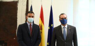 Abinader se reúne con el presidente Español Pedro Sánchez