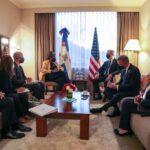 En Ecuador el presidente dominicano Abinader sostiene encuentro bilateral con delegación de Estados Unidos