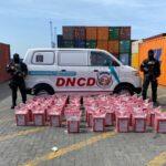Incautan 299 paquetes presumiblemente cocaína en Puerto Caucedo